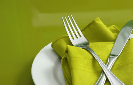 Place setting. ExtraSmall Does the Size of Your Plate Make You Fat?