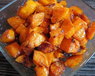 RoastedSweetPotatoes Roasted Sweet Potatoes
