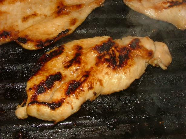 GrilledBourbonChicken1 Grilled Bourbon Chicken