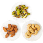 almonds cashews pistachio 400x400 150x150 Snacking Smart