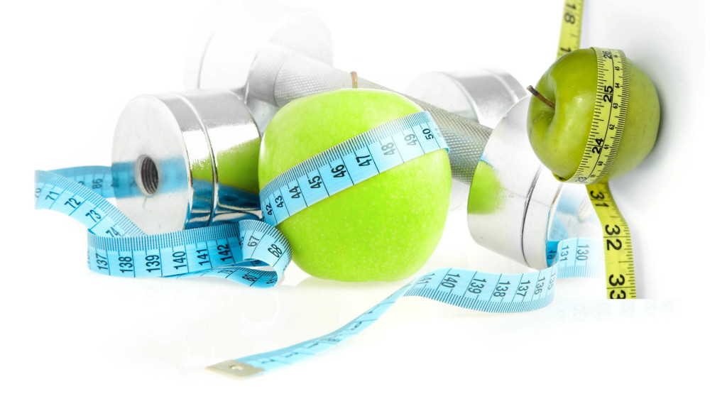 barbells apple tape measure 1024x579 Is It Possible to Change Your Metabolism?
