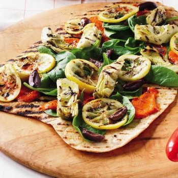 Mediterranean Barbeque Pizza - The Summer Weight Loss tool