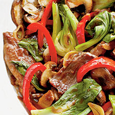 porkandboychoystirfry Pork and Bok Choy Stir Fry