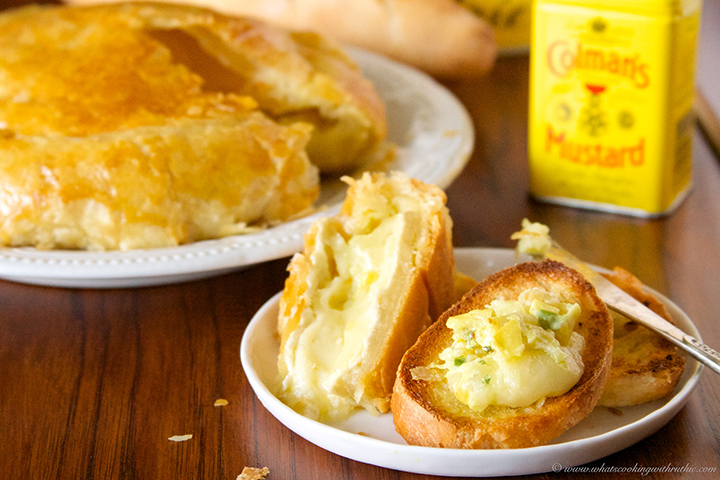 Artichoke Mustard Baked Brie1 2 Artichoke Mustard Baked Brie