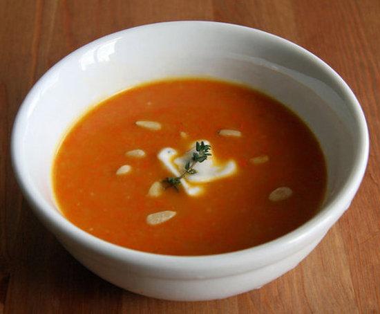 ginger carrot soup Ginger Carrot Soup