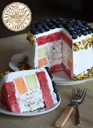 Pistachio Melon Cake